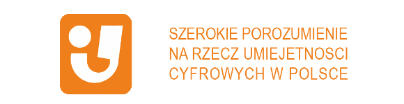 logo Szerokiego Porozumienia na Rzecz Umiejętnosci Cyfrowych w Polsce