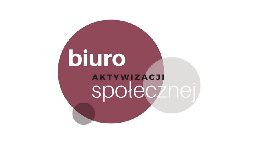 Logo Biura Aktywizacji Społecznej