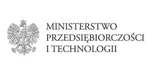 Logo Ministerstwa Przedsiębiorczości i Technologii